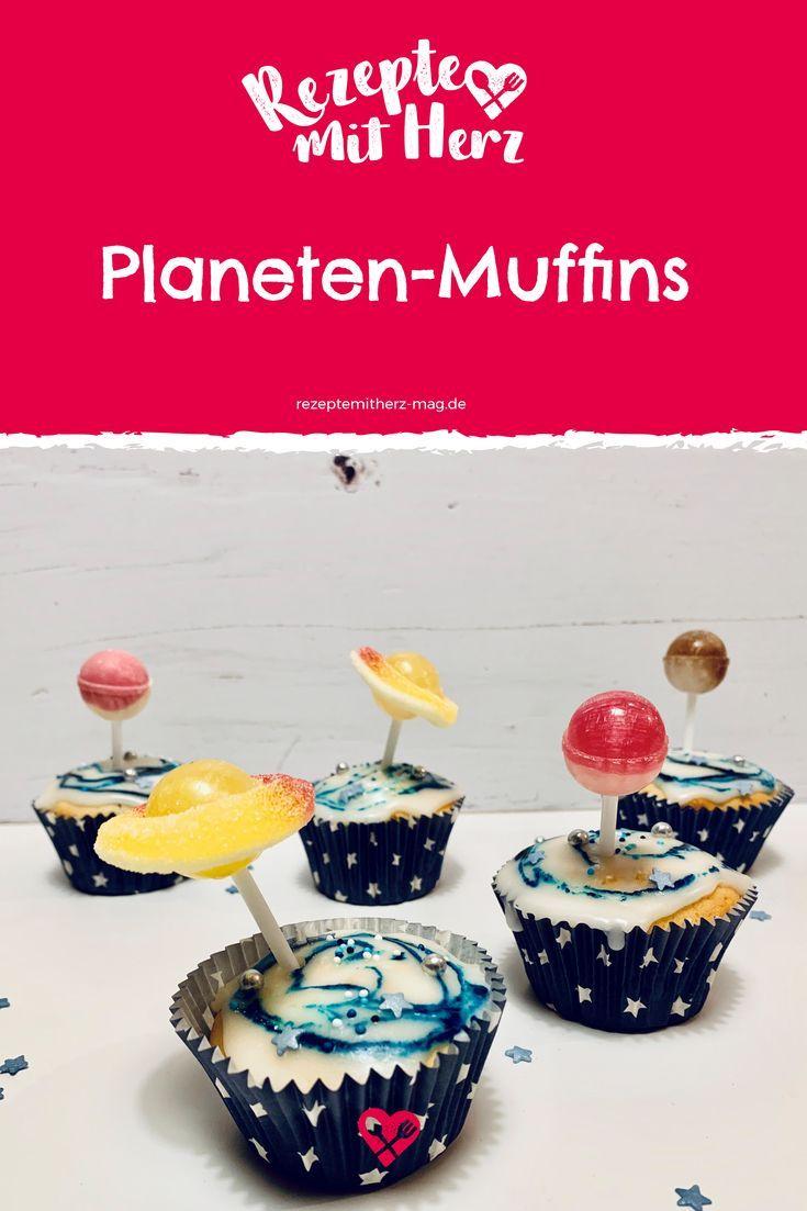 Planeten-Muffins für den Kindergeburtstag – Thermomix-Rezept