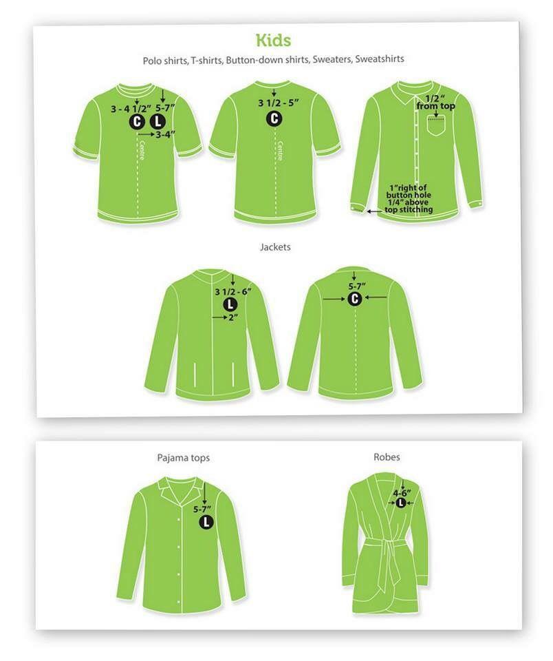 Logo Placement Guide: Embroidery & Appliqué