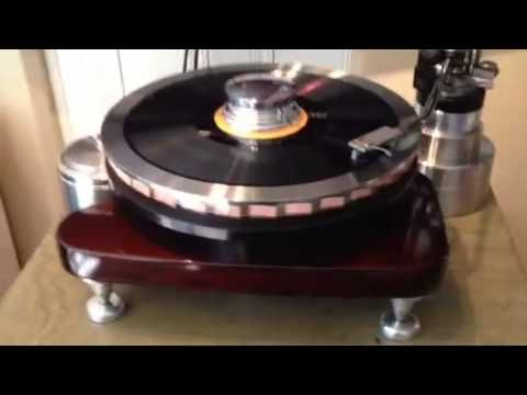 Gem Supreme Rim Drive Turntable Turntable Turn Table Vinyl Rim