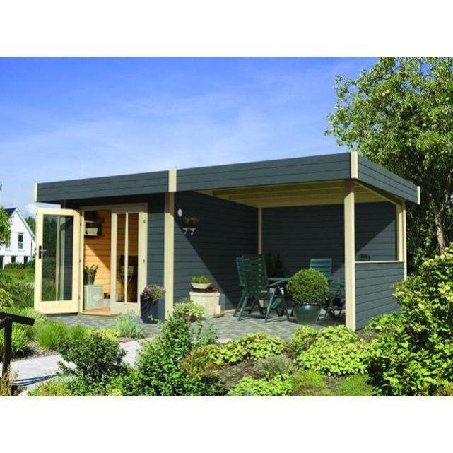 Abri jardin karibu multi cube 3 gris 604 x 244 x 231cm Karibu | La ...