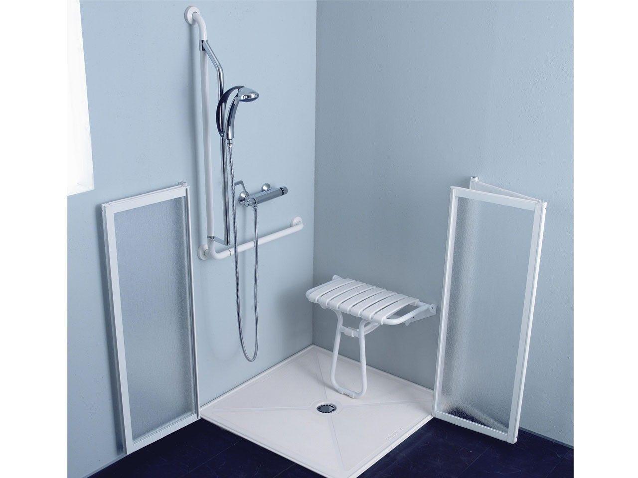 Sedile Doccia Disabili : Box doccia disabili cm bianco venduto da iperceramica