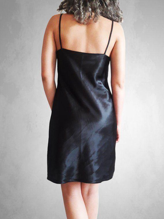 9ef950b1816 Satin slip dress
