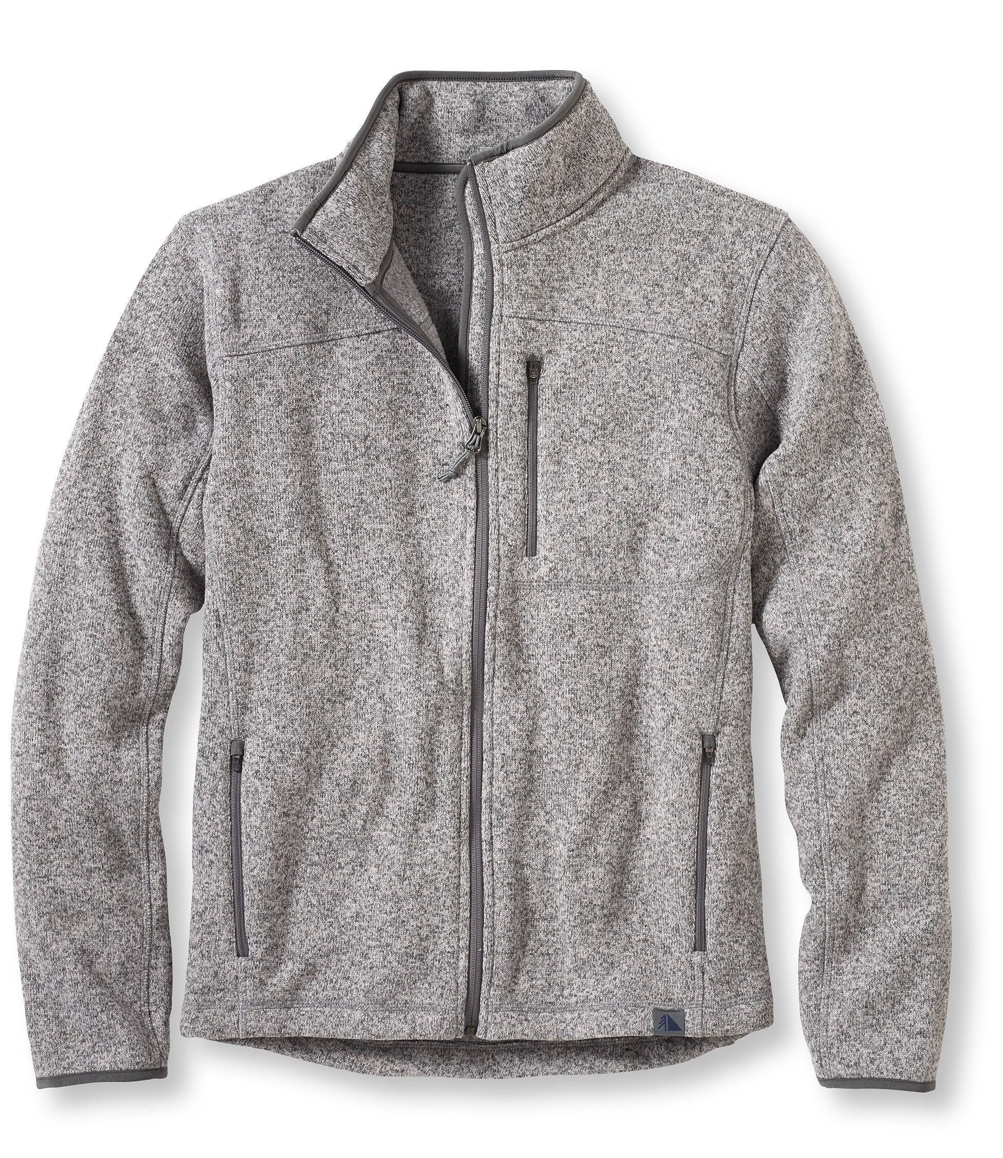 L.L.Bean Sweater Fleece Full-Zip Jacket  f368d70ed