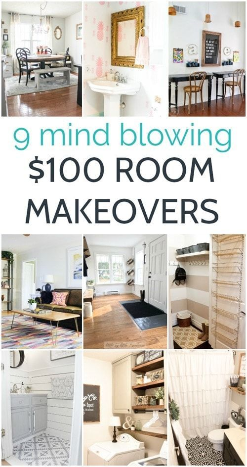$100 room makeovers that will knock your socks off is part of Room Makeovers That Will Knock Your Socks Off Lovely Etc - I think a lot of us feel like we can't have a beautiful home that we love because there just isn't enough money  I know I have definitely felt that way plenty of times  And in all honesty, having an endless budget to spend on decorating your home probably would make things much faster and …