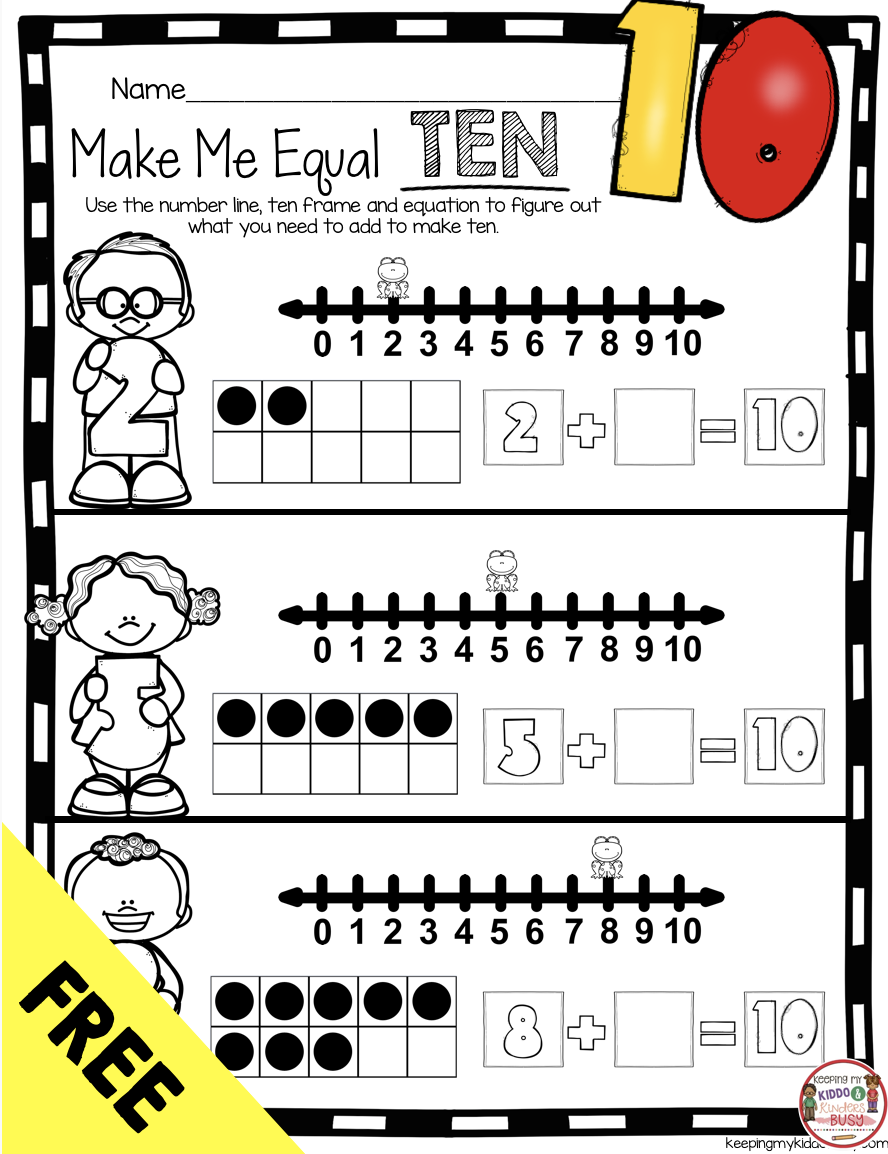 Operations Algebraic Thinking Bundle Freebies Keeping My Kiddo Busy Kindergarten Math Units Addition Kindergarten Algebraic Thinking [ 1154 x 888 Pixel ]