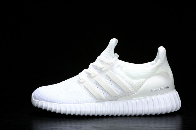 Adidas Yeezy Ultra Boost Women's Running Shoes All White ...