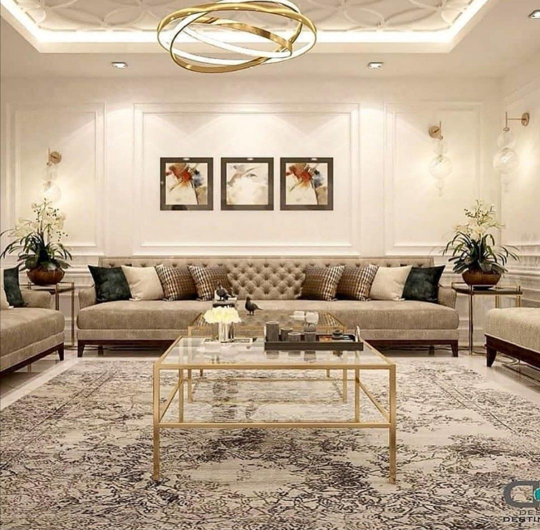 Pin By Faye On صالات استقبال Classy Living Room Living Room Design Inspiration Living Room Decor On A Budget