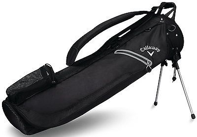 Callaway Golf Hyper-Lite 1 Stand Bag Lightweight Carry Bag 2017 Black New