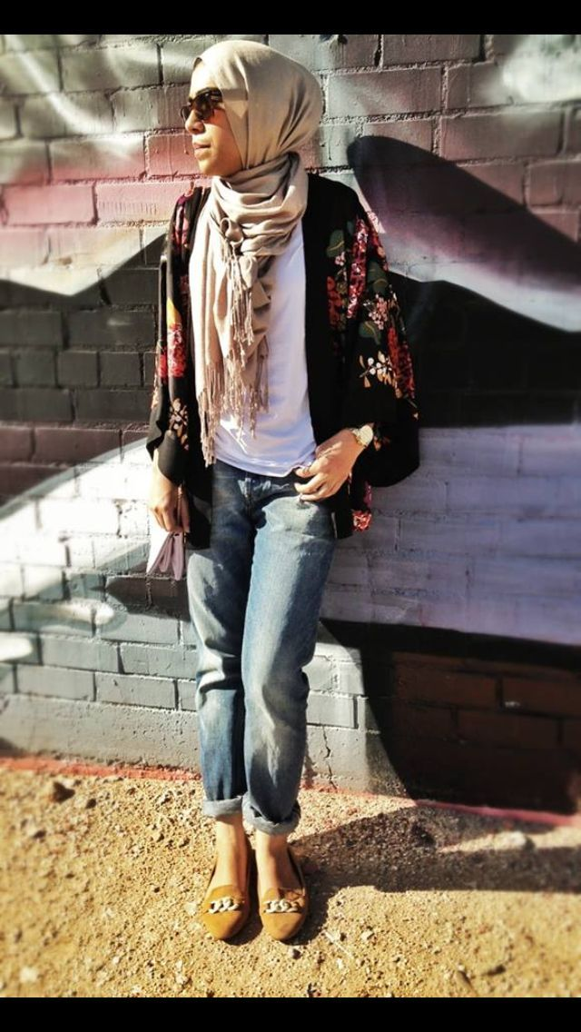 30 Stylish Ways To Wear Hijab With Jeans For Chic Look Stylish 30th And Hijab Outfit