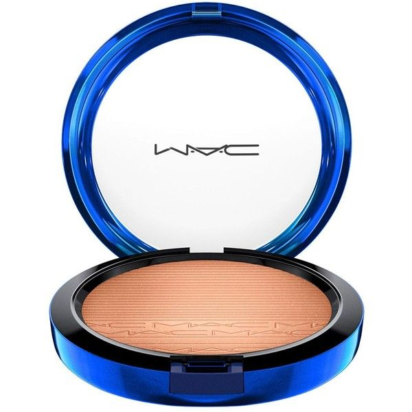 MAC In Extra Dimension Skinfinish, Magic of the Night Holiday... (47 AUD) ❤ liked on Polyvore featuring beauty products, makeup, face makeup, shaft of gold, mac cosmetics, highlight makeup, evening makeup, art deco makeup and shimmer makeup