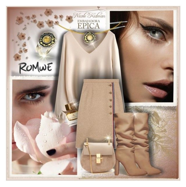 """""""fall.... in love!"""" by giampourasjewel ❤ liked on Polyvore featuring BasicGrey, Gianvito Rossi, Burberry, Gucci and Chloé"""