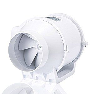 Hon Amp Guan 100mm Extractor Inline Duct Fan Super Light And Quiet 4 Inch Amazon Co Uk Diy Amp Tools