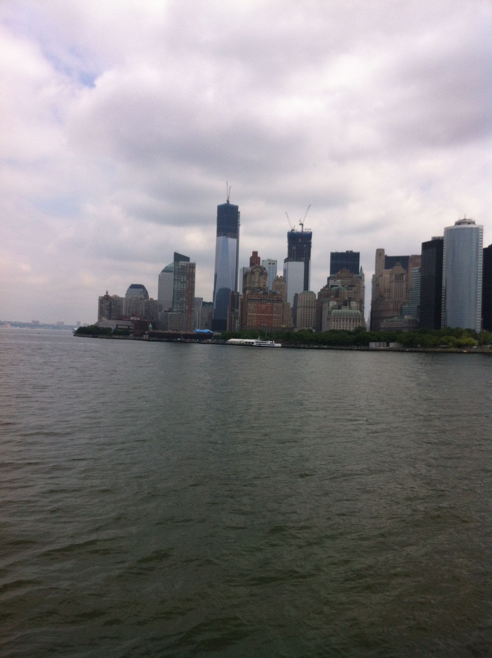 On my way to Staten Island for a ride.