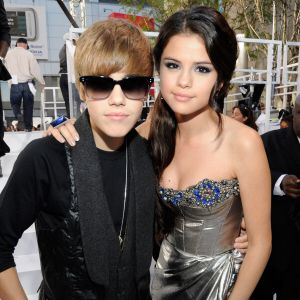 Justin Bieber and Selena Gomez may have broken up due to a kissing scene Selena shared with a co-star while filming.  www.fantasticfigures.org/celebrity_couples.htm