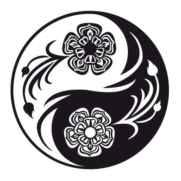 Yin yang...GREAT PATTERN … | Yin yang tattoos, Yin yang art, Yin yang