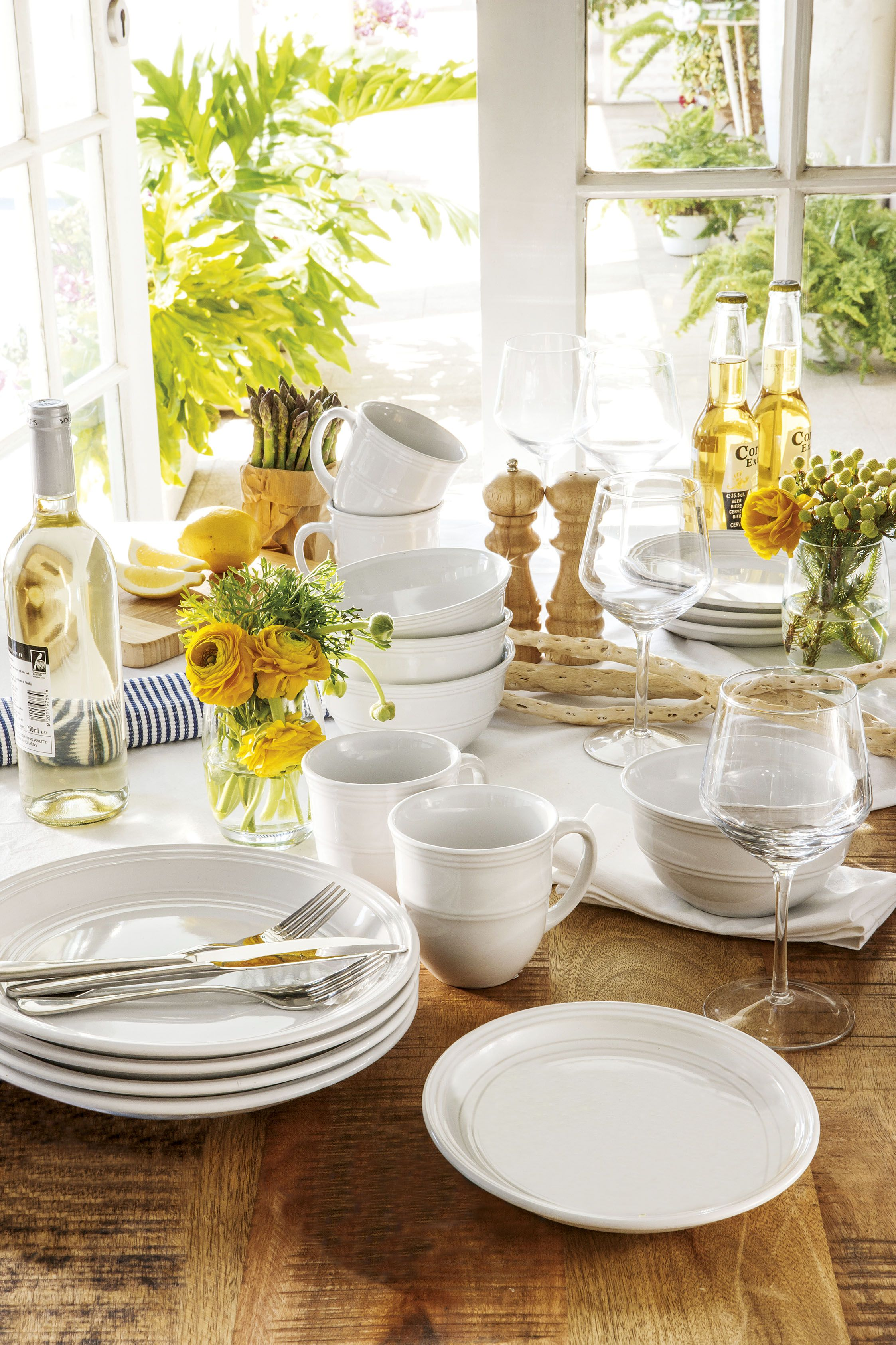 Mr Price Home Summer 2012. Dining Naturals Yellow