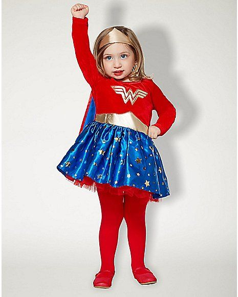 Baby Wonder Woman Dress Costume Dc Comics Spencer 39 S Disfraz Mujer Maravilla Nina Disfraz Mujer Maravilla Disfraces Mujer Maravilla Nina