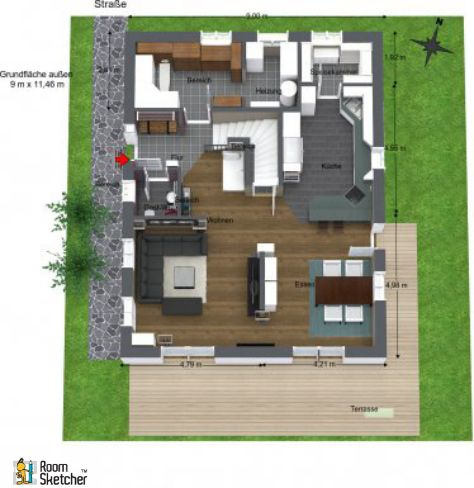 Roomsketcher Visualize Your Home Design Your Dream House Home Developers Building A House