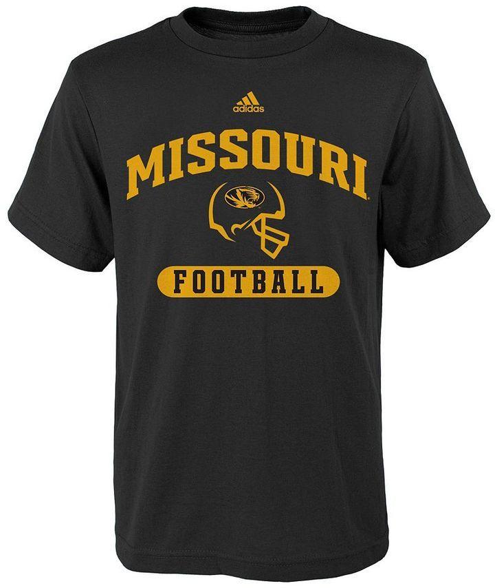 Boys 8-20 adidas Missouri Tigers Sport Arch Football Tee