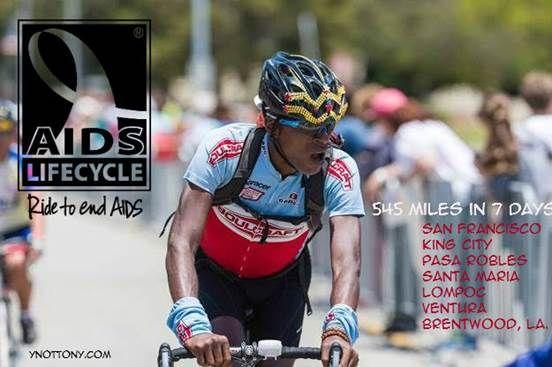 19th Year AIDS Lifecycle Cyclist, Tony Eason    ynottony - sponsorship form