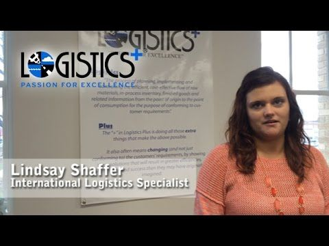 Lindsay Shaffer - one of the people who power the plus in Logistics Plus.