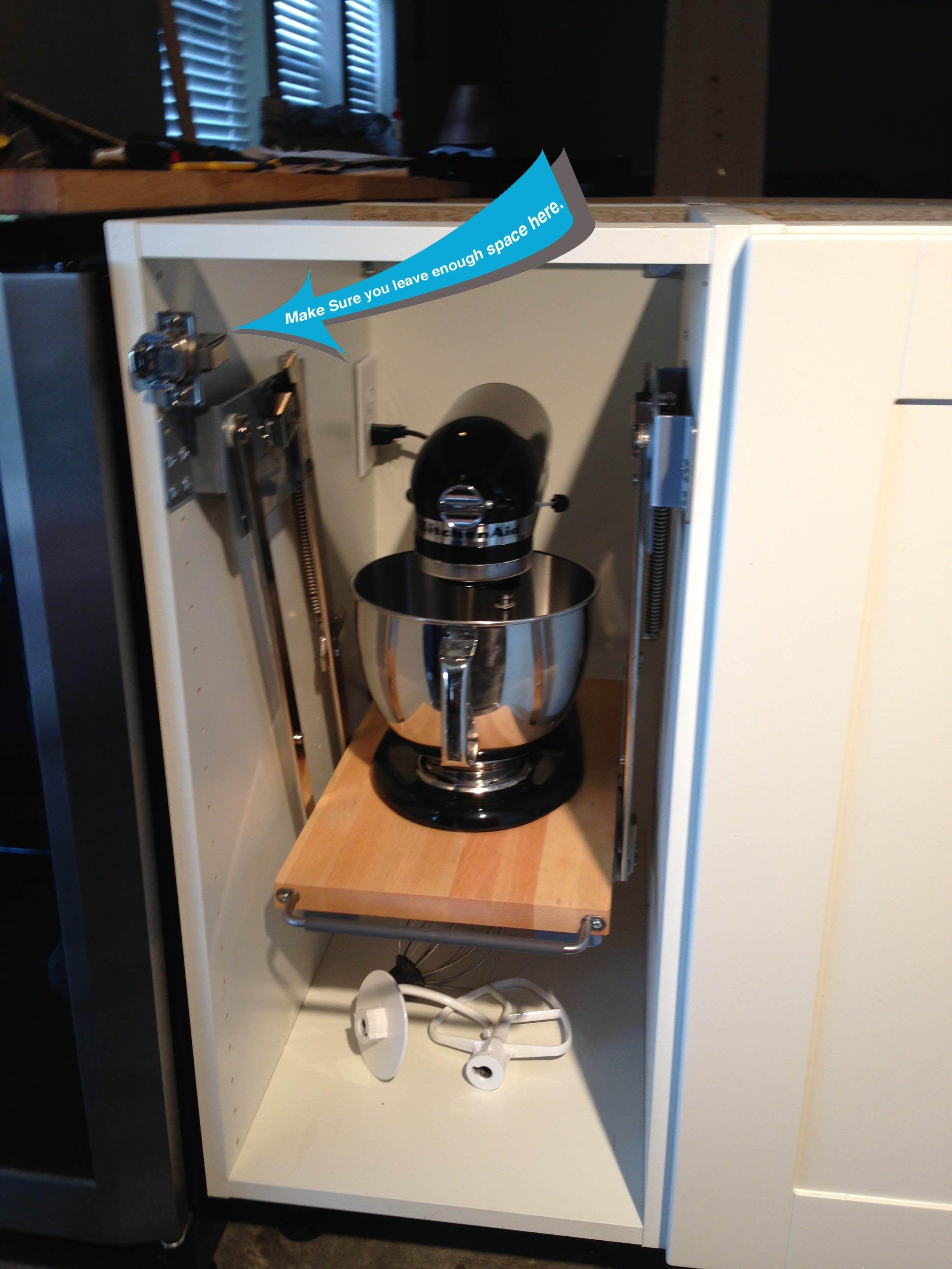 Ikea Cabinets And Mixer Lift Ikea Kitchen Kitchen Remodel Ikea