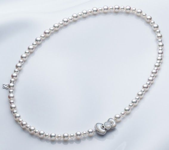 db965669e The Terrier and Lobster: Mikimoto Pearls X Hello Kitty Fine Jewelry  Collection