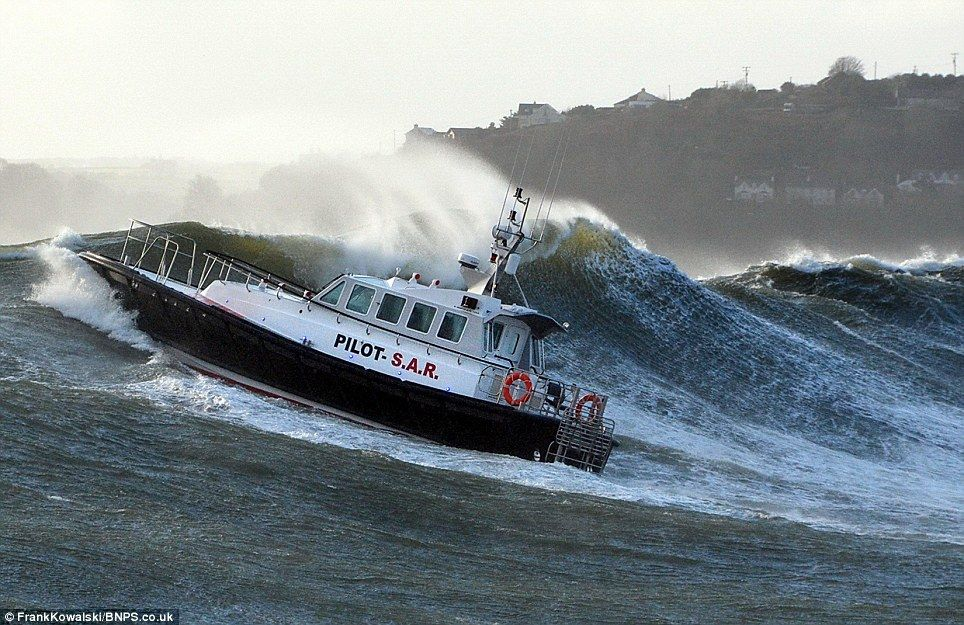 Get ready for another MONTH of bad weather Wild Seas