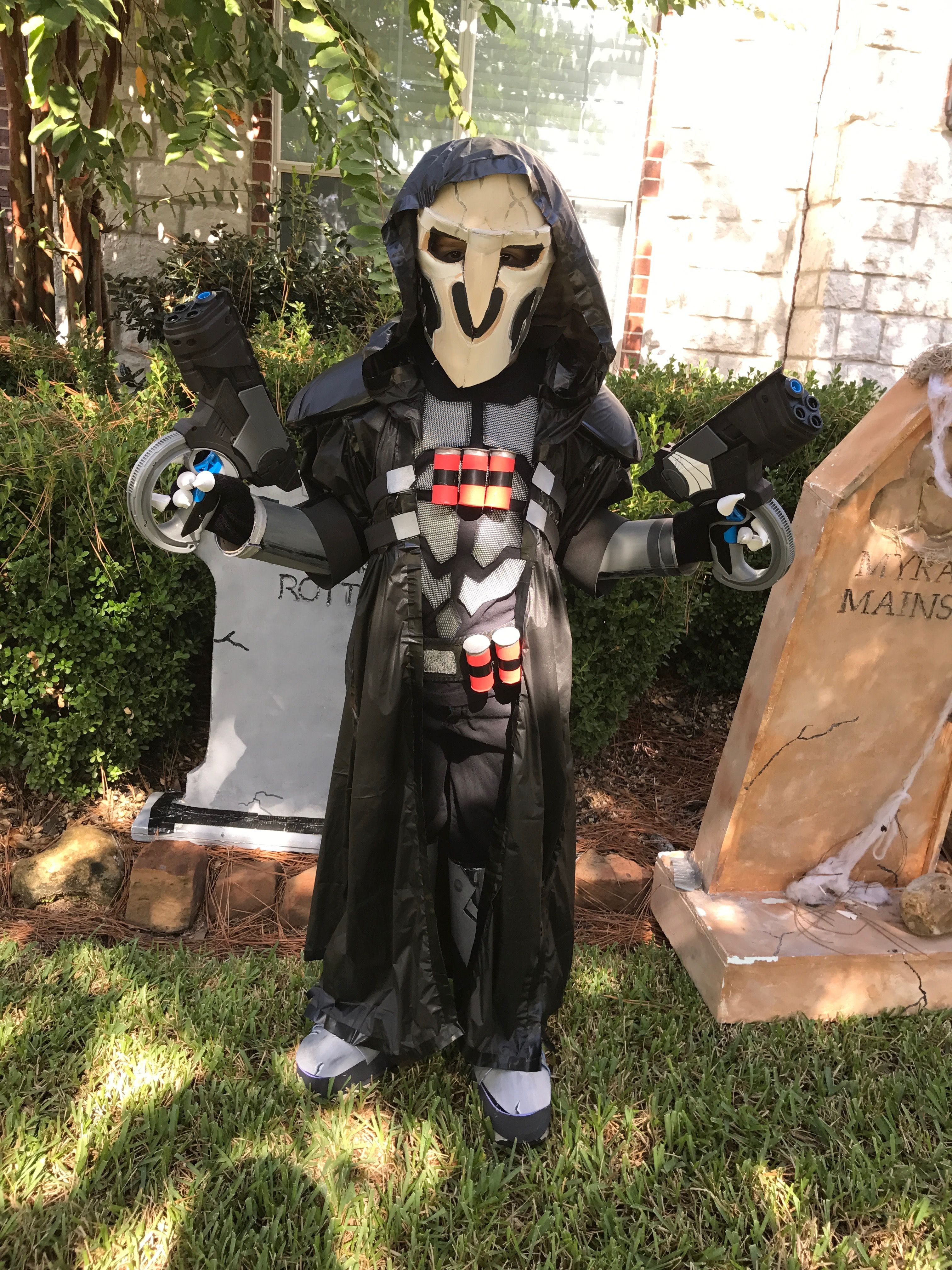 a378e518f3f Overwatch Reaper Halloween kids costume. Overwatch cosplay.