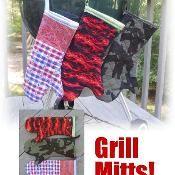 Grill Mitts! - via @Craftsy