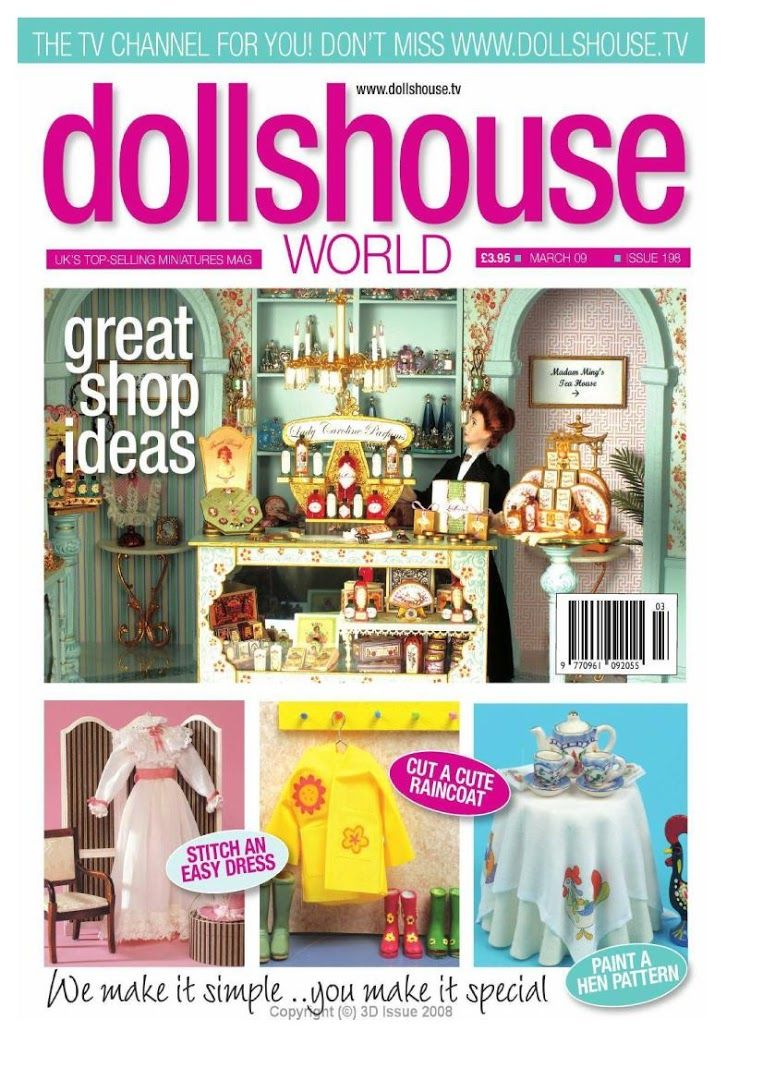 Dolls House World 2009  March №198 - https://get.google.com/albumarchive/106736309378903373597/album/AF1QipOu9FTDIM30Yka98bqhP6mddxH9tgJRSffD28VW?authKey=CIKMyviPn7jKigE