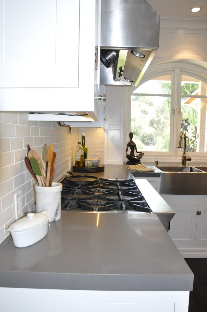 Engineered Quartz Countertop Like The Thickness Of It Kitchen