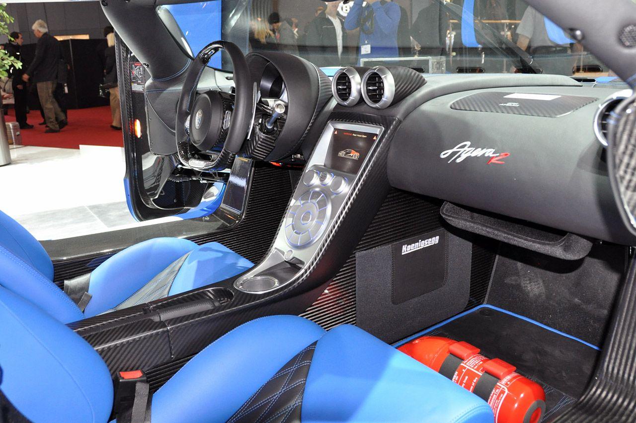 Koenigsegg koenigsegg agera r interior : Interior of a Koenigsegg Agera R | Cars and Motorcycles ...