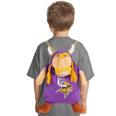 wholesale dealer d5e13 f23cf Your little fan can take his Minnesota Vikings pride with ...