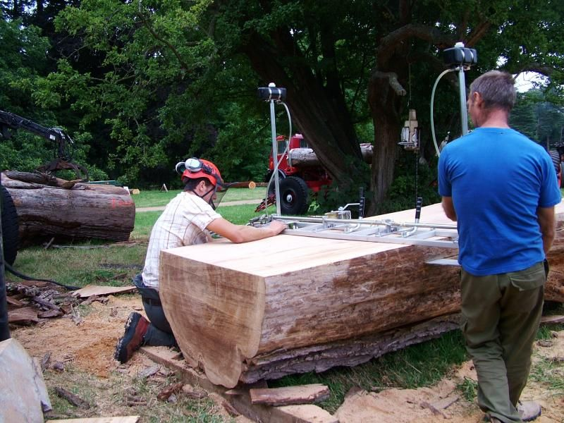 Diy chainsaw mill plans google suche