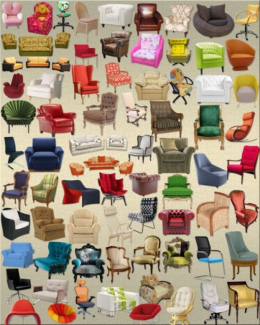 Sofa And Chair Clipart Png Collection Psd Free Photoshop