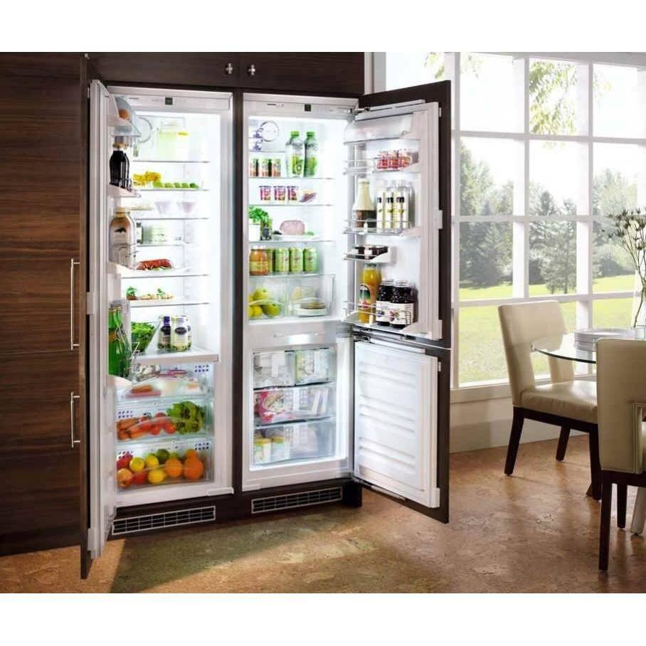 side by side integrated fridge freezer google search. Black Bedroom Furniture Sets. Home Design Ideas
