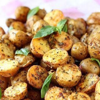 Toasty Roasted Baby Potatoes