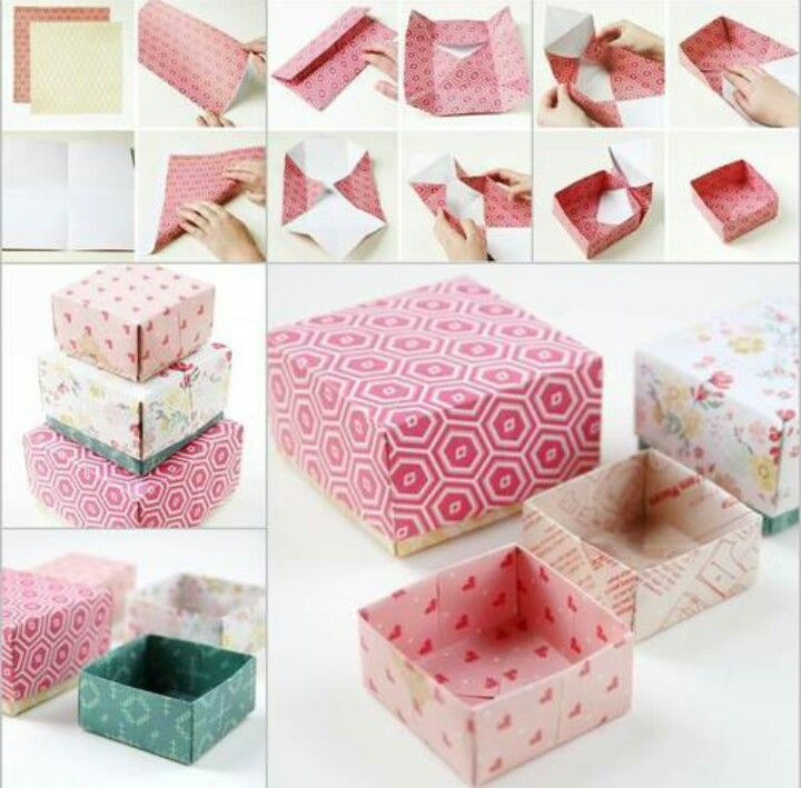 On we heart it crafts pinterest craft how to tutorial for origami styled gift boxes diy diy crafts do it yourself diy projects origami gift box solutioingenieria Images