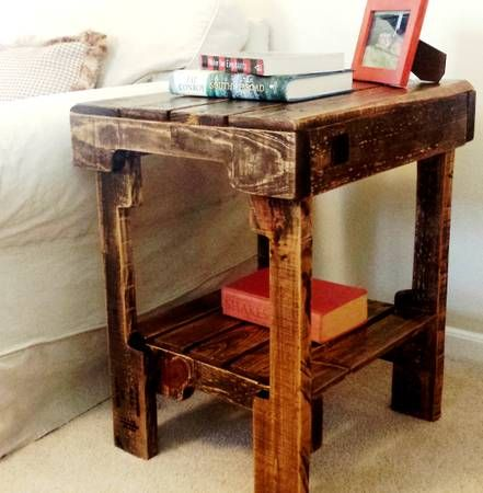 Quick Inexpensive End Tables Reclaimed Wood Side Table Classic