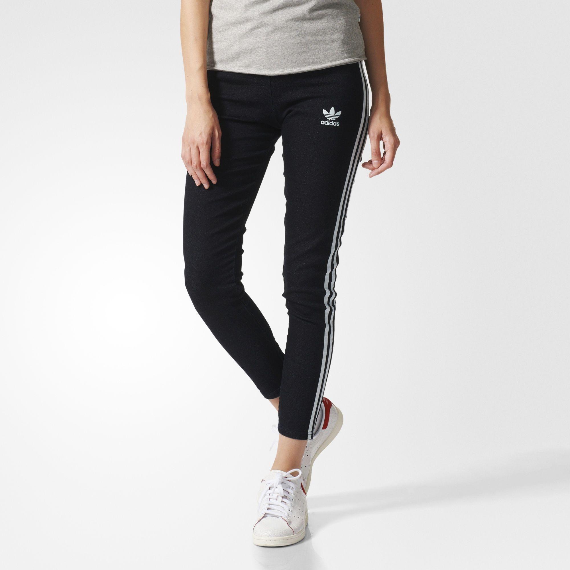 91ee93b8ed911b Online adidas Originals Baggy Tapered Pants Sportswear for Women Shop  Womens Sportswear COLOUR-black
