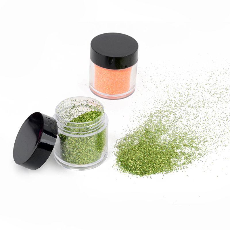1set Shellhard 24 Color Nail Gittler Powder Pearl Shimmer ...