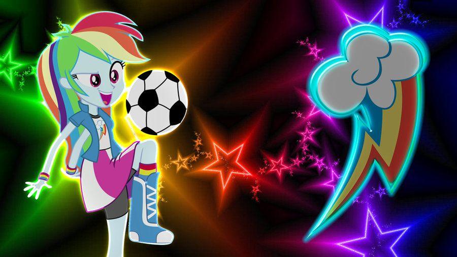 Equestria Girls Rainbow Dash Wallpaper By Macgrubor On Deviantart