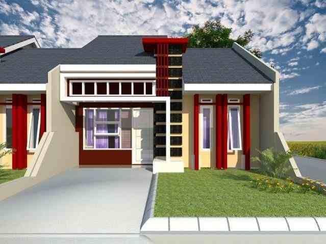 Set minimal warna cat rumah yang indah di luar | Rumah ...