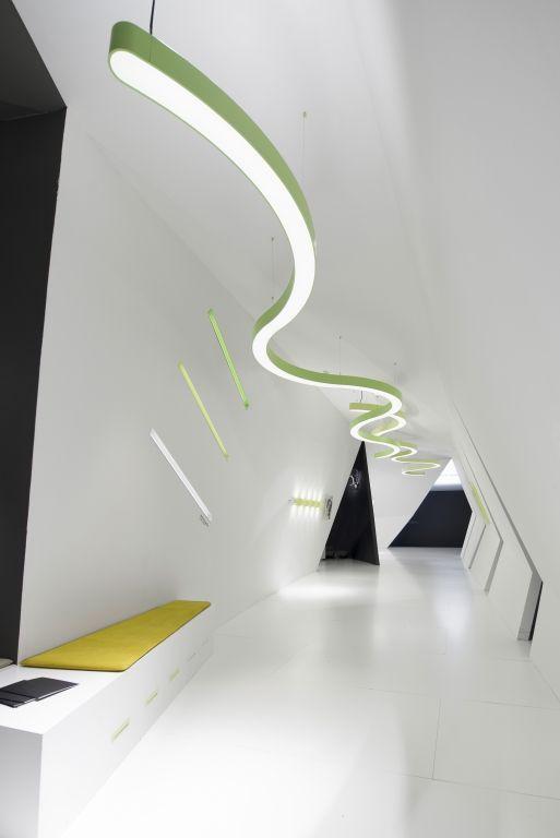 Ribbon Pendant Ceiling Light