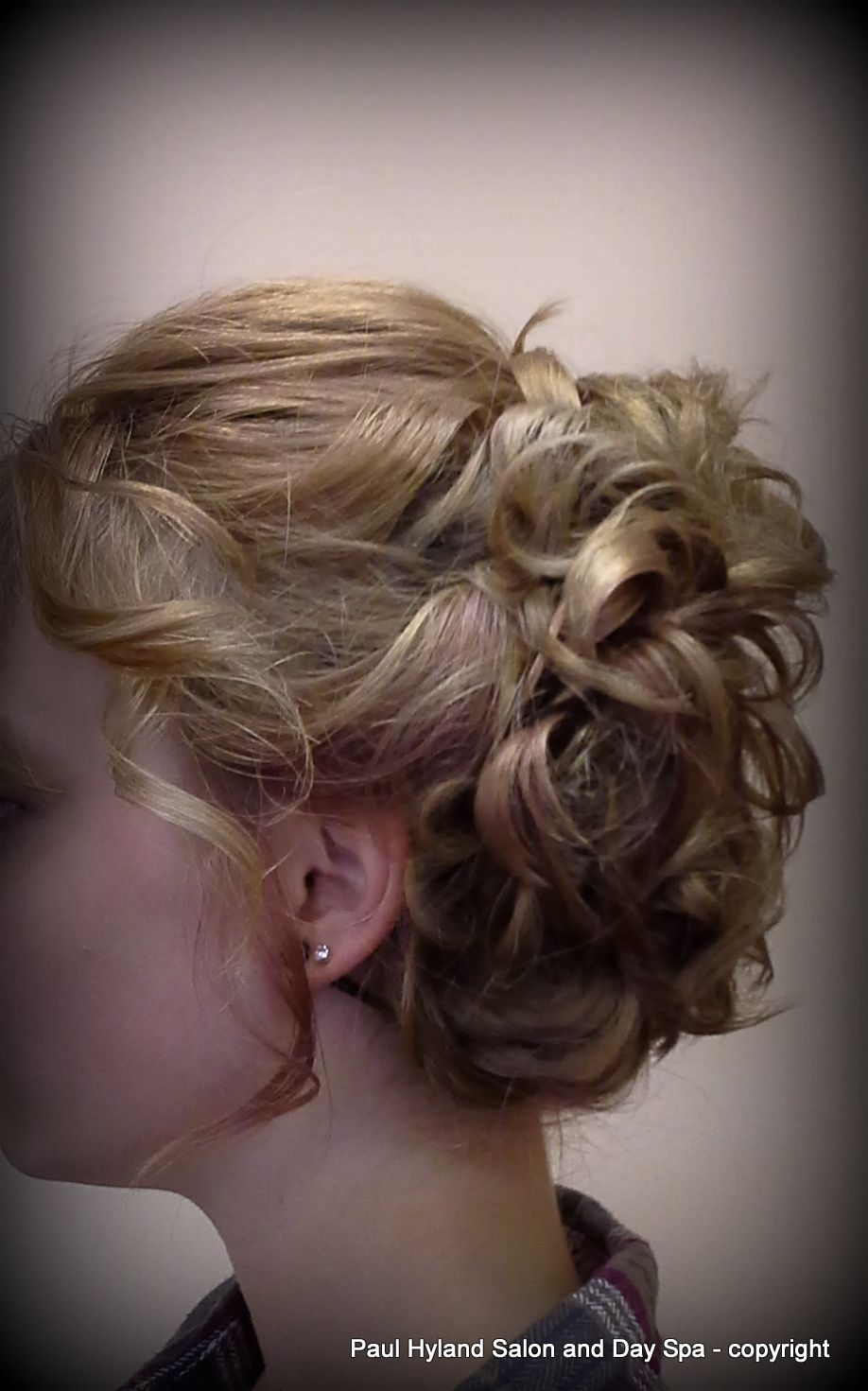 Bridal Or Prom Special Occasion Hairstyle For Medium Length