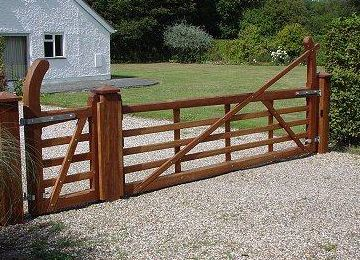 Wooden Gate Design House Automatic Gates 1010 Spring