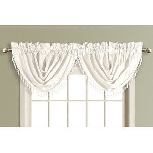 Home Waterfall Valance Curtains Valance