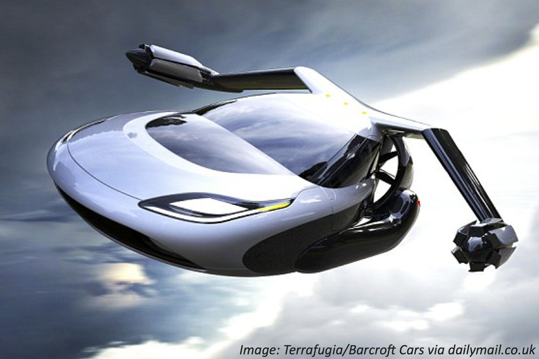 Find out how near in the near future flying cars are in