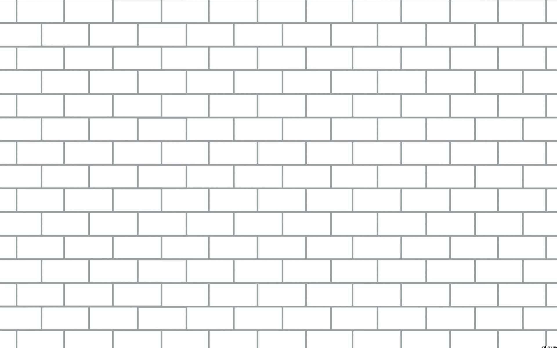 Genuine Brick Coloring Page Printable Wall Outline White Brick